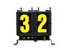digit 2 run number box