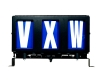 vxw run number box
