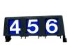 3 digit run number box right