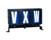 3 digit vxw run number box