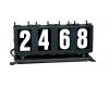 4 digit run number box right
