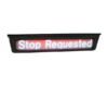stop requested sign right