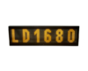 LED LD1680 Amber Front