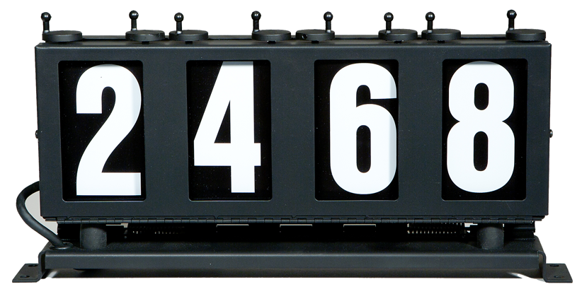 run number boxes