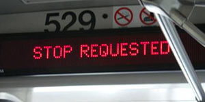 STOP REQUESTED SIGNS