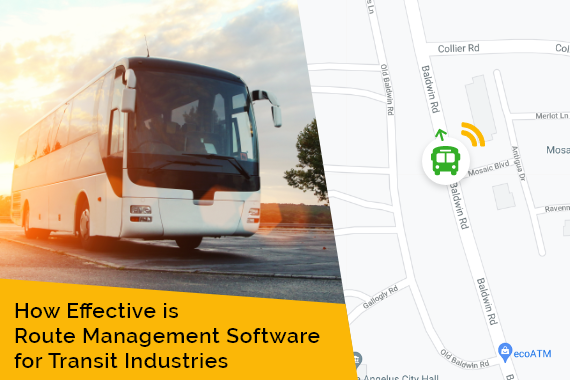 How Effective is Route Management Software for Transit Industries
